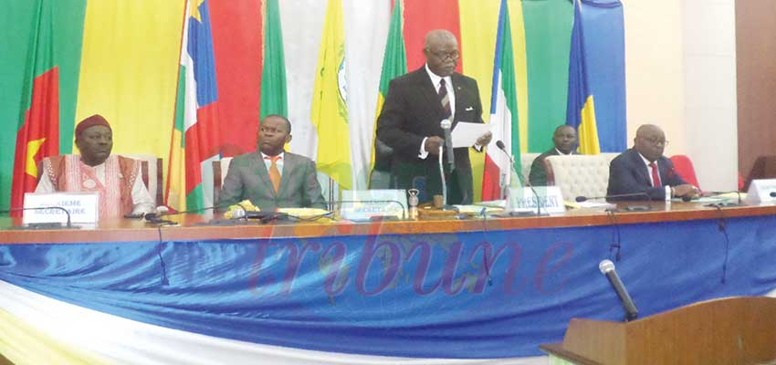 CEMAC Parliament: Hon. Hilarion Etong Elected President