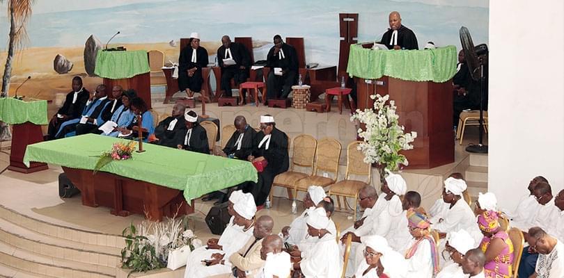 Eglise évangélique du Cameroun: Prières pour la paix