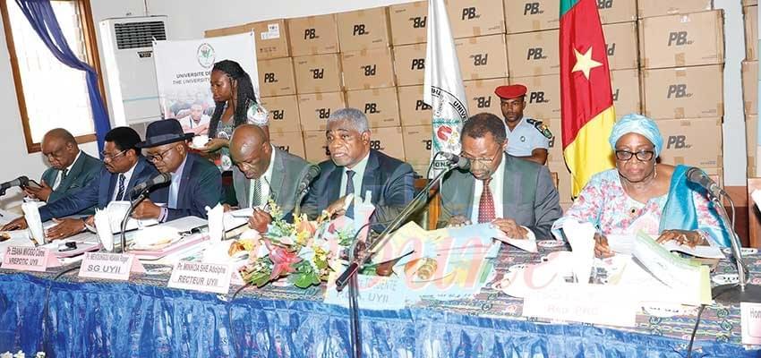 Image : Université de Yaoundé II : le budget de 2019 adopté