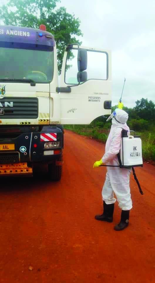 Est : les camionneurs passent au contrôle