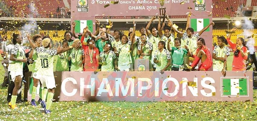Image : 2018  Women AFCON: Nigeria Emerges Champion Of Africa