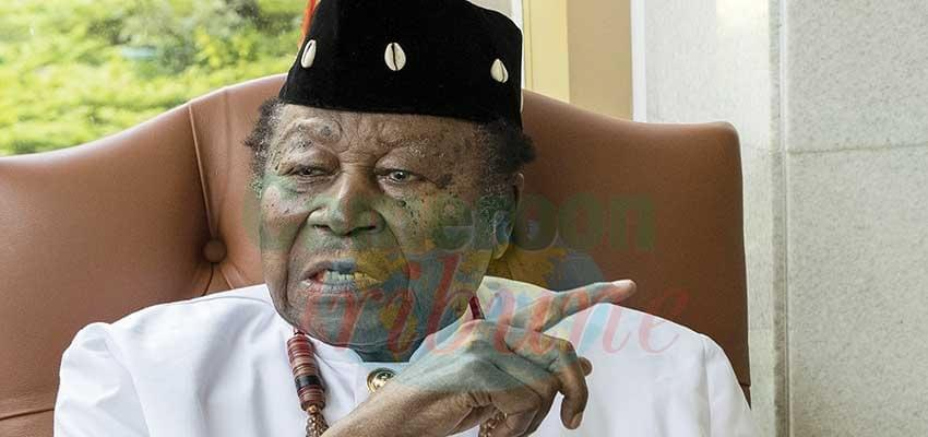 Image : Senator Nfon Victor E. Mukete: Eldest Member Of Senate Clocks 100