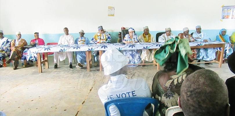 Image : Ngaoundéré: Aminatou Ahidjo mobilise pour Paul Biya