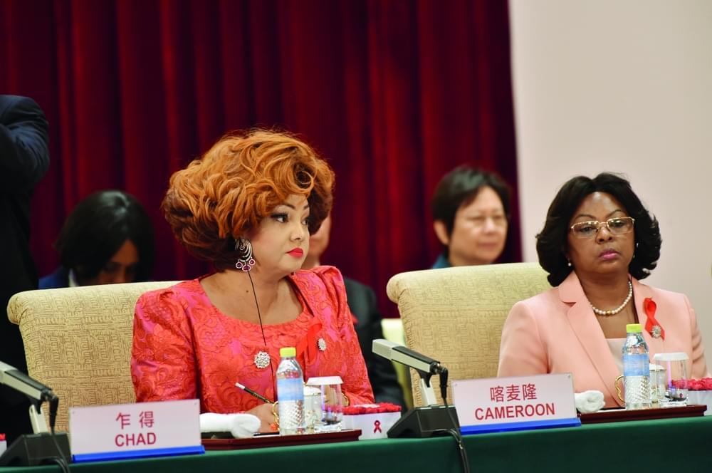 Image : Les premières dames pour un avenir sans sida