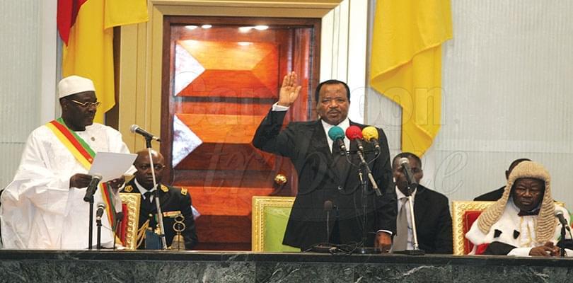 Image : Investiture du président élu: la valeur du serment