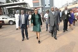 Image : Minister Rene Sadi Visits SOPECAM