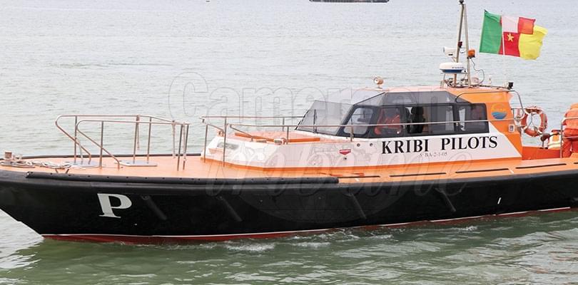 Image : Port autonome de Kribi: le premier bateau pilote est là