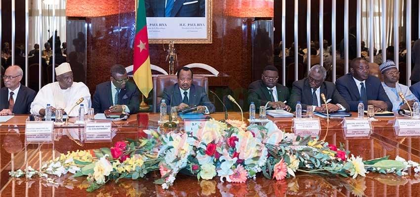 Image : January 4, 2019 Cabinet Reshuffle : Paul Biya Galvanises New Government