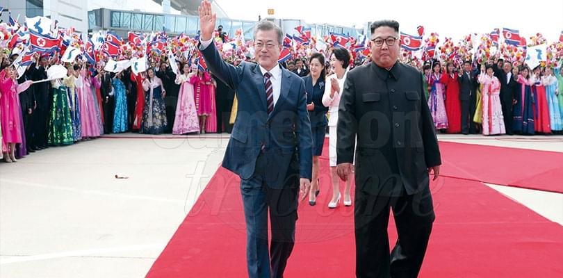 Image : Korean Peninsular: North, South Leaders Discuss Denuclearisation