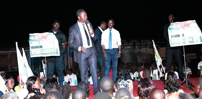 Image : Yaoundé: Ndifor Thrills Electorate
