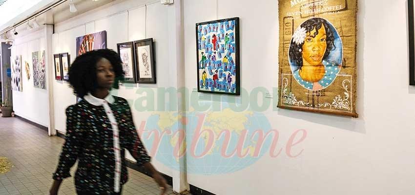 Exposition : tableaux en « Mosaïques »
