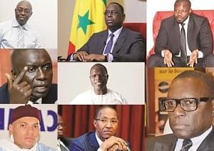 Image : Présidentielle au Sénégal: la chasse aux parrainages