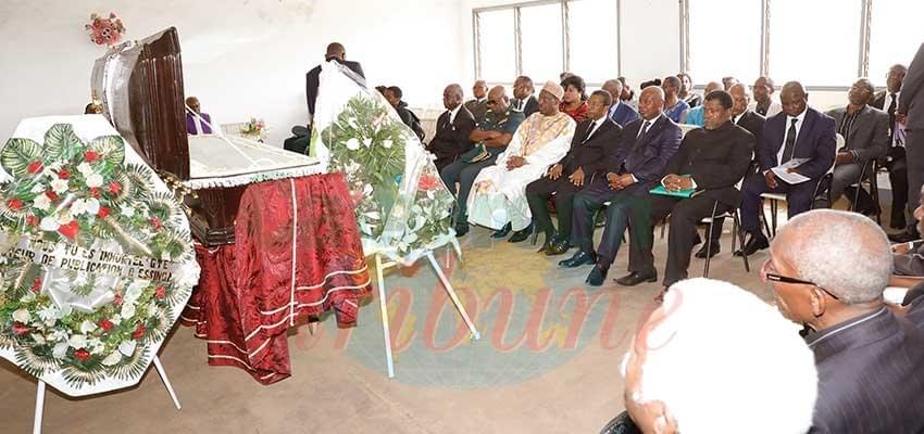 Image : Gilbert Tsala Ekani repose à Leboudi