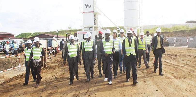 Image : Approvisionnement de Yaoundé en eau potable: les travaux sur la Sanaga avancent