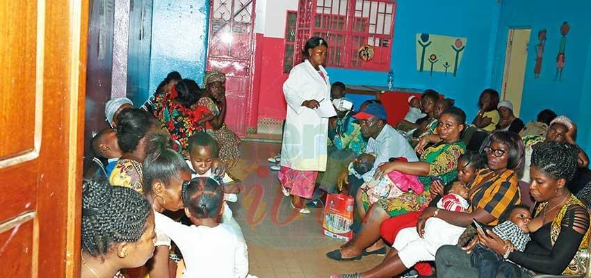Le Centre Mère et Enfant traite une moyenne de 89 consultations par jour.