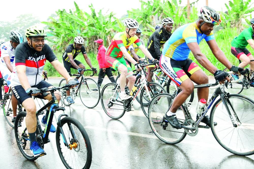 Cyclotourisme : 30 coureurs à la découverte du Cameroun