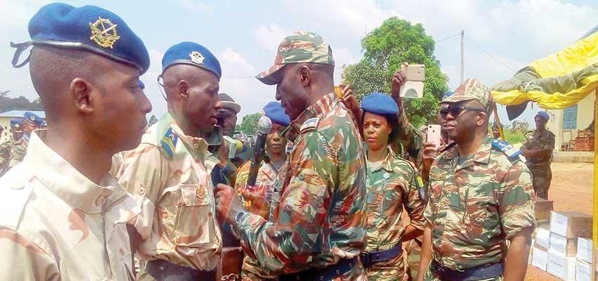 Base aérienne de Bertoua : 35 militaires décorés