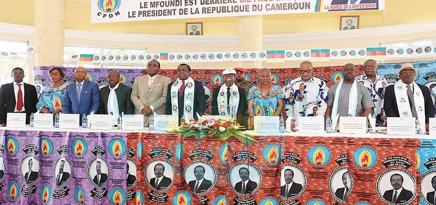 RDPC: le Mfoundi prépare les échéances futures