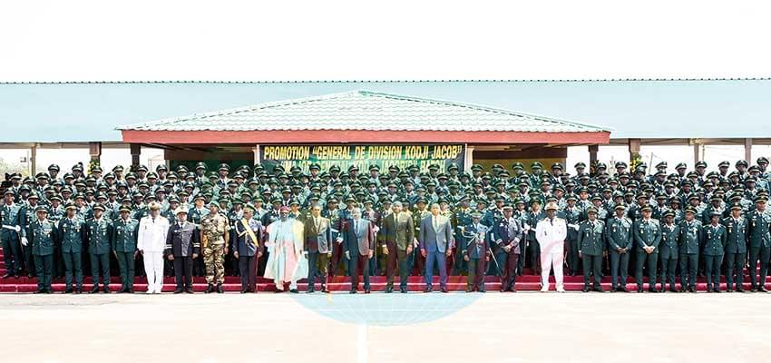 Defending Territorial Integrity : Fresh Cadet Officers To Spur Efficiency