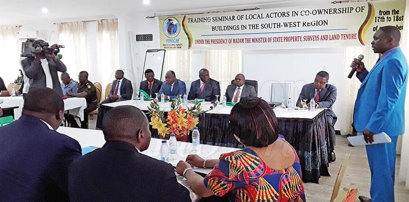 South West:  Local Actors Drilled On Co-Ownership Of Building