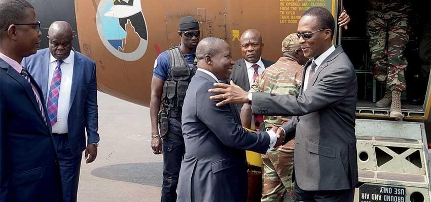 Image : Casques bleus camerounais en RCA: le Mindef fête la Saint-Sylvestre avec les troupes