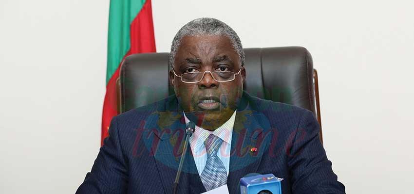 René Emmanuel Sadi : « Le gouvernement dispose des ressources à la hauteur des enjeux et des défis qui se posent ».