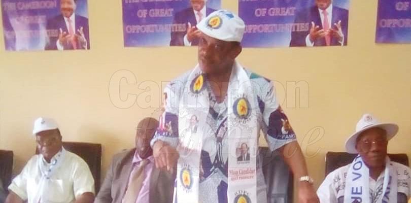 Image : Manyu: minister Mengot Galvanises Votes For President Biya