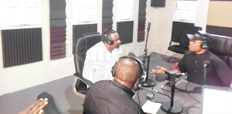 CNCM: Frankline Ndifor Visits Media Organs