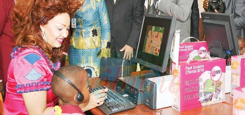 Image : Education: l'autre priorité de Chantal Biya