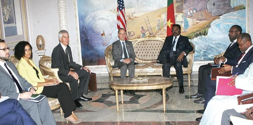 Image : Diplomacy: US Envoy Assesses Humanitarian Situation