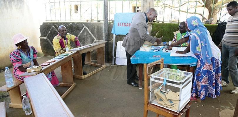 Image : Processus électoral: le peuple affiche sa maturité