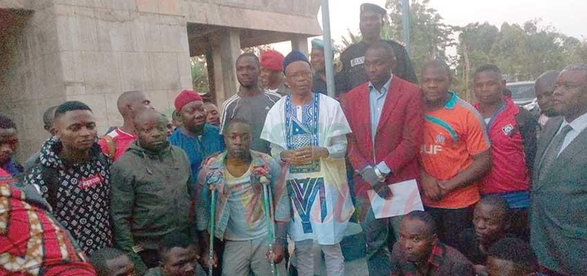 Image : Bamenda Rejoices As 49 Detainees Regain Freedom