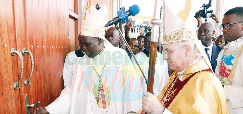 Sangmélima: la Cathédrale St Joseph consacrée