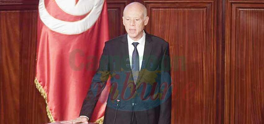 Le chef de l'Etat a promis de ne pas décevoir les attentes des Tunisiens.