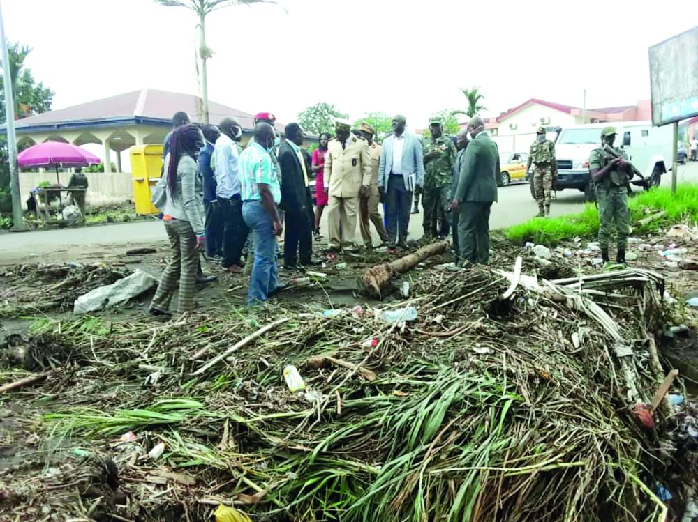 24 March, 2020 Buea Floods : Torrents Hit A Dozen Areas In Buea