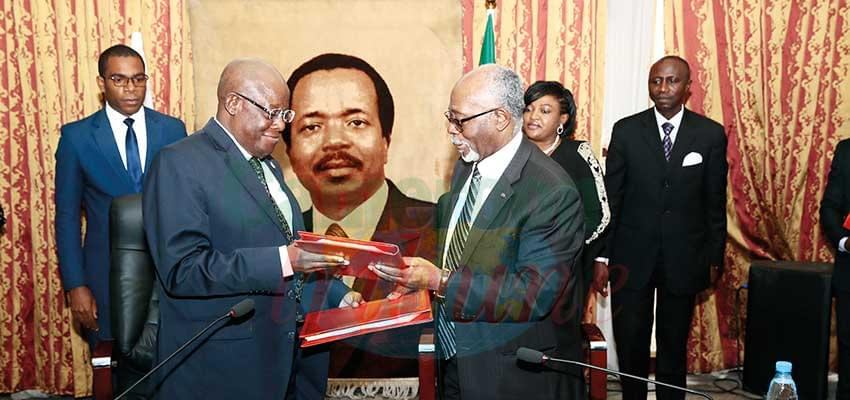 Cameroon-COMIFAC Cooperation : Revised Headquarters Agreement Signed