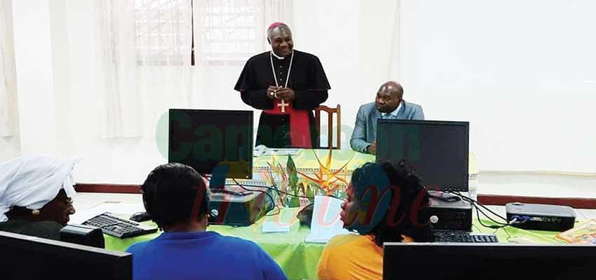 Le diocèse de Mbalmayo se met au numérique.