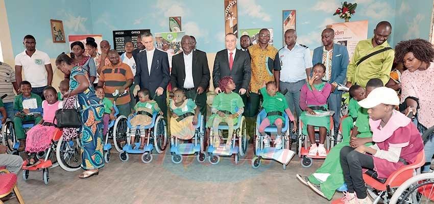 Image : Yaoundé: Le soutien d'Israël aux  enfants handicapés