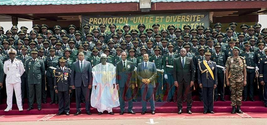 36e promotion de l'EMIA: 174 nouveaux officiers en mission