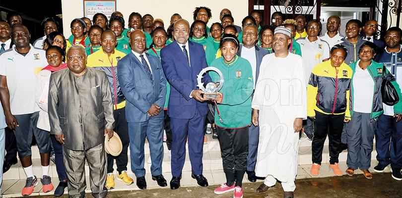 Image : COSAFA Women's Cup: Government Congratulates Lionesses