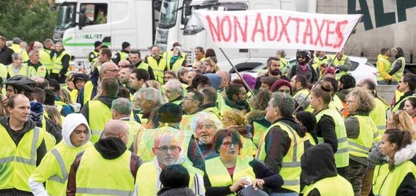 Image : Crise des «Gilets jaunes» en France: Le gouvernement suspend certaines taxes