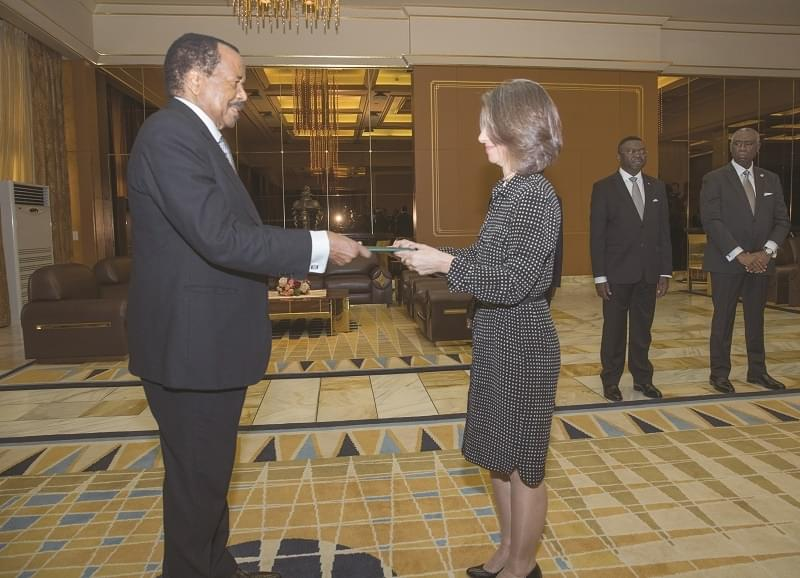 Image : Diplomatie: Deux nouveaux diplomates accrédités