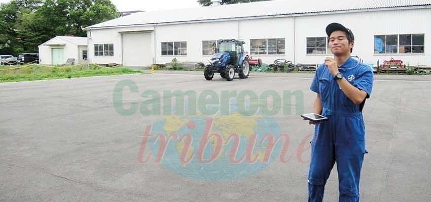 Avec des tracteurs télécommandés, on est entré au Japon dans l'ère de l'agriculture intelligente