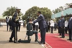 Image : EMIA: President Paul Biya Honours The 36th Batch