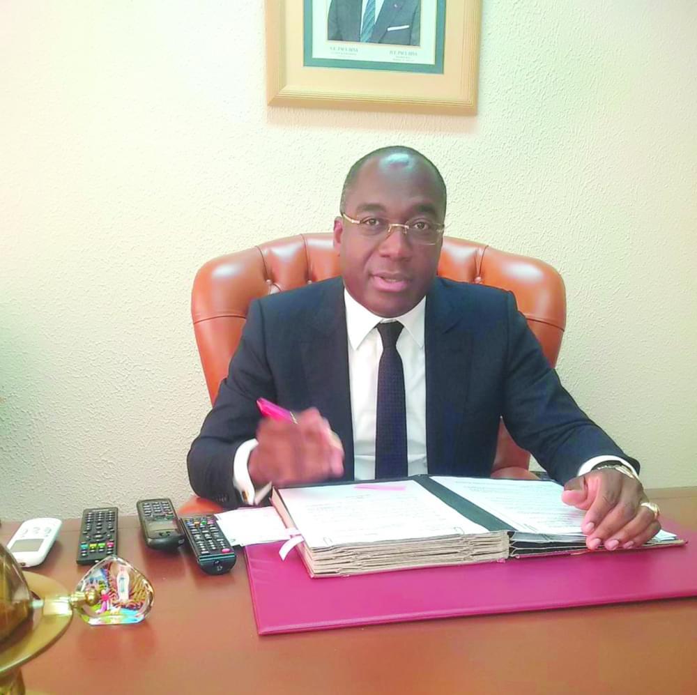Martial Valery Zang, président de la Commission technique de réhabilitation des entreprises du secteur public et parapublic.