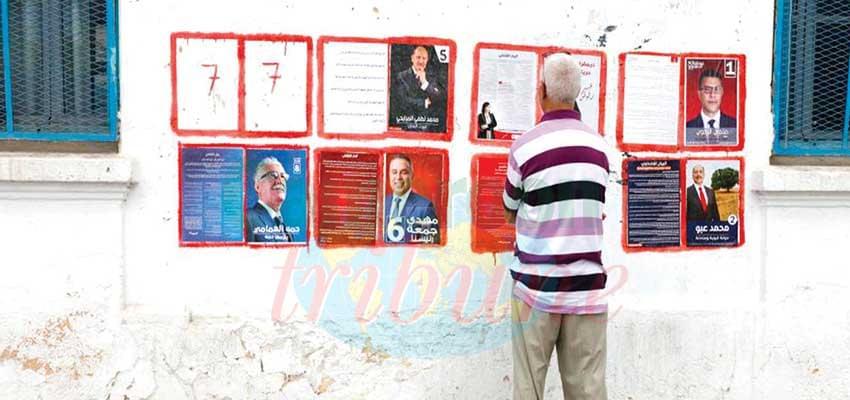 La liste des candidats : les urnes vont parler dimanche.