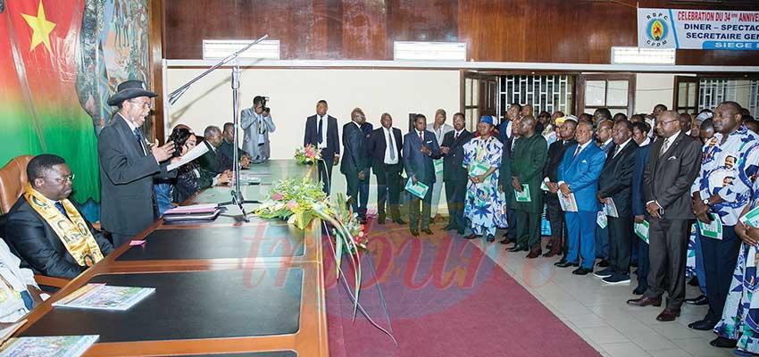 Comité central: objectif : victoire en 2019