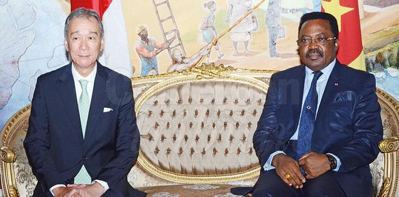 Image : Cameroon-Japan: Ambassador Bids Farewel