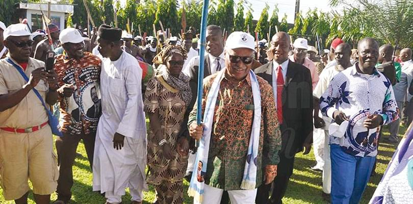 Image : Wouri: Paul Biya peut compter sur les communautés