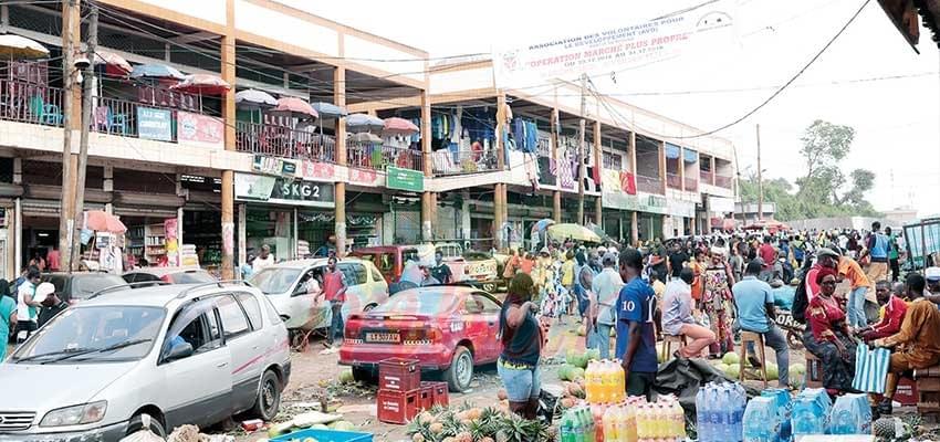 Image : Marchés de Yaoundé: le défi de la propreté